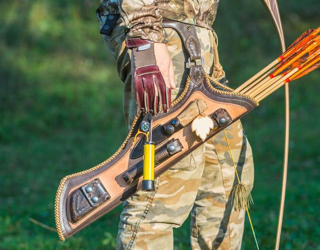 Accessoires d un arc de chasse